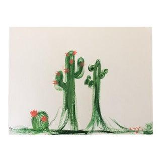 """""""Cactus Constellations"""" Original Painting"""