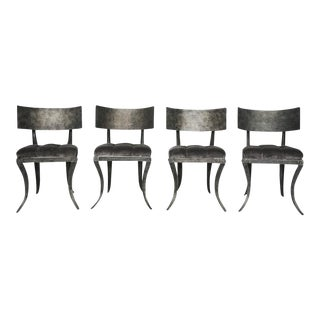 Steel Klismos Chairs