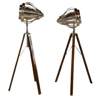 Industrial Style Tripod Floor Lamps
