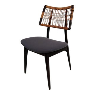 Danish Modern Cane Back Chair