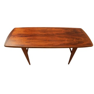 Swedish Mid-Century Rosewood Coffee Table #10
