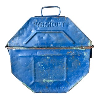 Vintage Paramount Pictures Film Reel Canister