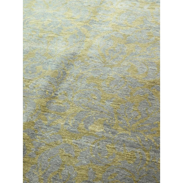 """Hand-Knotted Contemporary Rug - 6'x 9'5"""" - Image 4 of 10"""