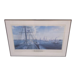 John Mecray New York Harbour Print, 1851