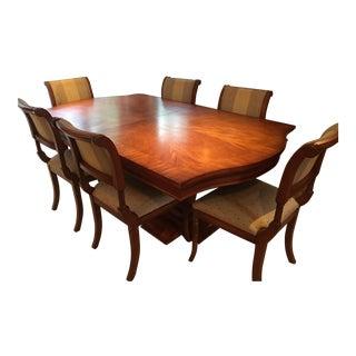Century Regency Style Expandable Dining Set