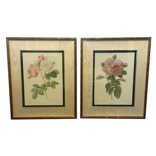 Vintage Inspired Rose Pictures - A Pair