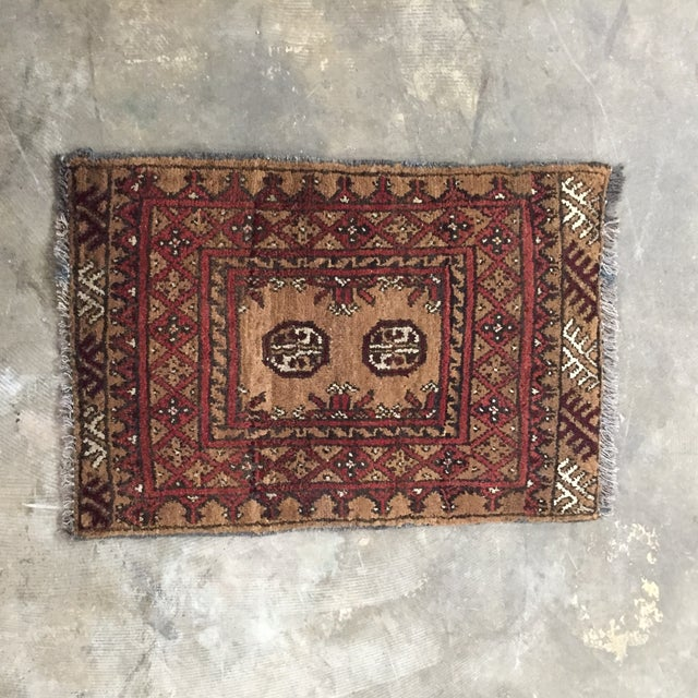 Turkaman Persian Rug - 1′7″ × 2′3″ - Image 2 of 9