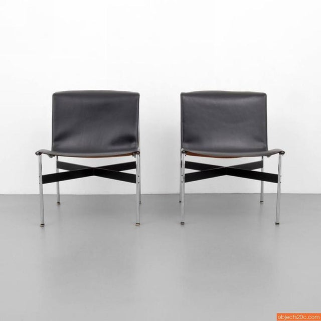 Pair Of William Katavolos, Ross Littell & Douglas Kelley, New York Lounge Chairs - Image 3 of 7