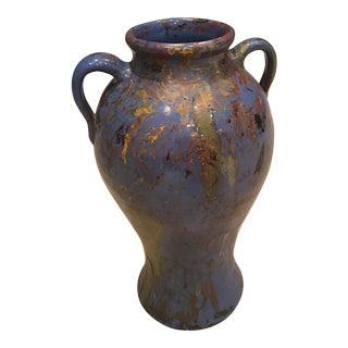 Tall Abstract Splashes Vase