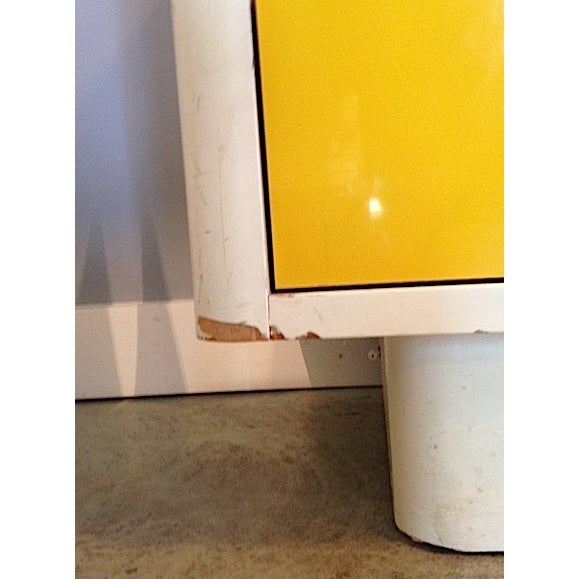 Yellow Broyhill Dresser/ Credenza - Image 4 of 11