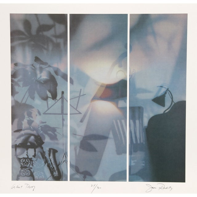 """Image of """"Musical Series II"""" Lithograph by Jack Radetsky"""