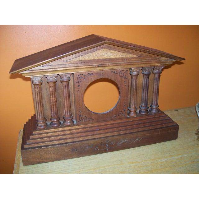 Image of Romanesque Mantle Clock Case Circa 1900