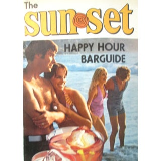 Retro Sunset Happy Hour Bar Guide