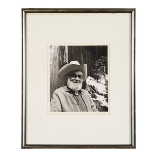 Portrait of Ansel Adams
