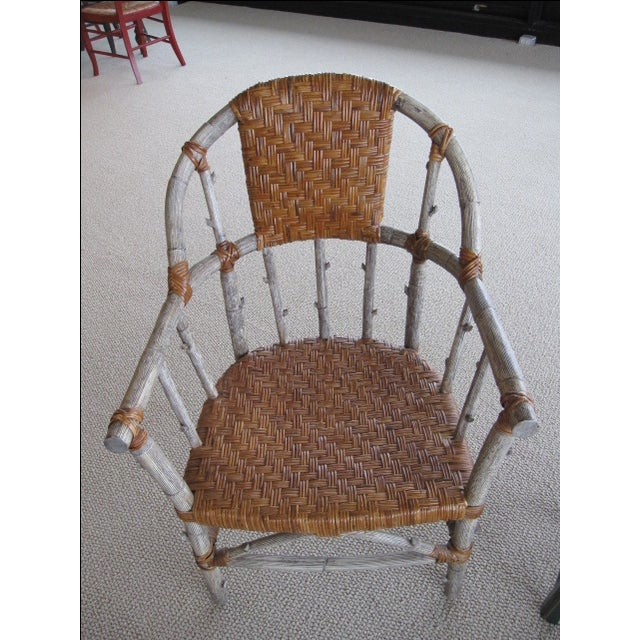Primitive Chairs - Pair - Image 2 of 3