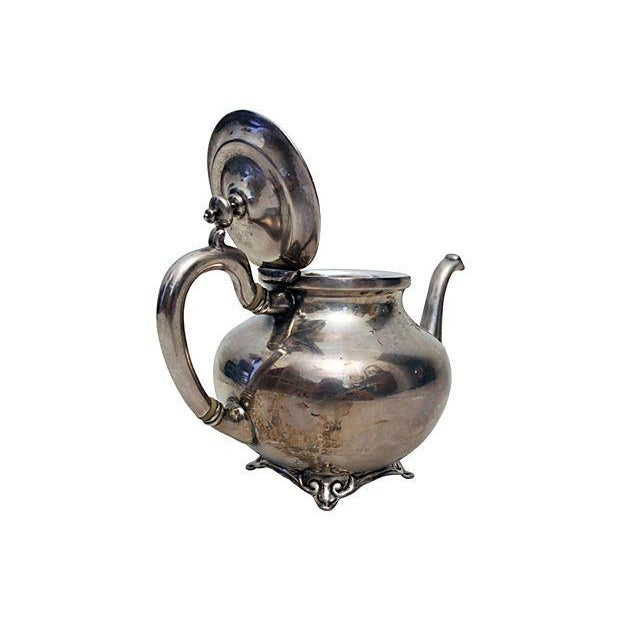 Image of Sterling Silver Teapot