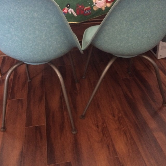 Mid-Century Shell Chairs by Brody - A Pair - Image 5 of 7