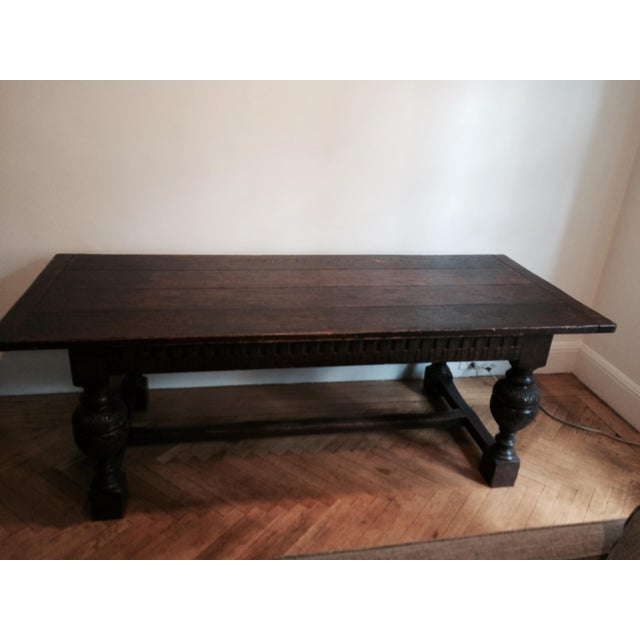 Antique Tudor Table - Image 2 of 9