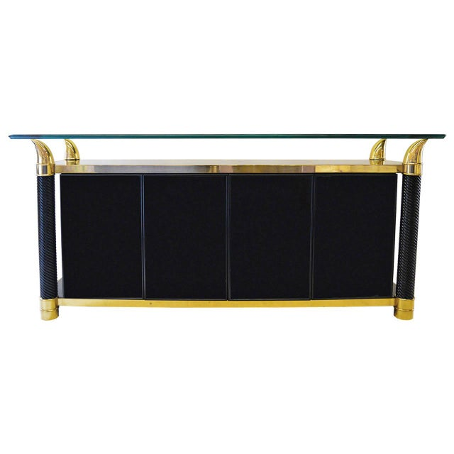 Hollywood Regency Cabinet & Buffet - Image 11 of 11
