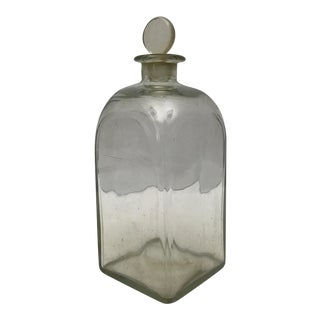 Antique French Glass Decanter