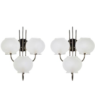Italian Gino Sarfatti for Arteluce Sconces - A Pair