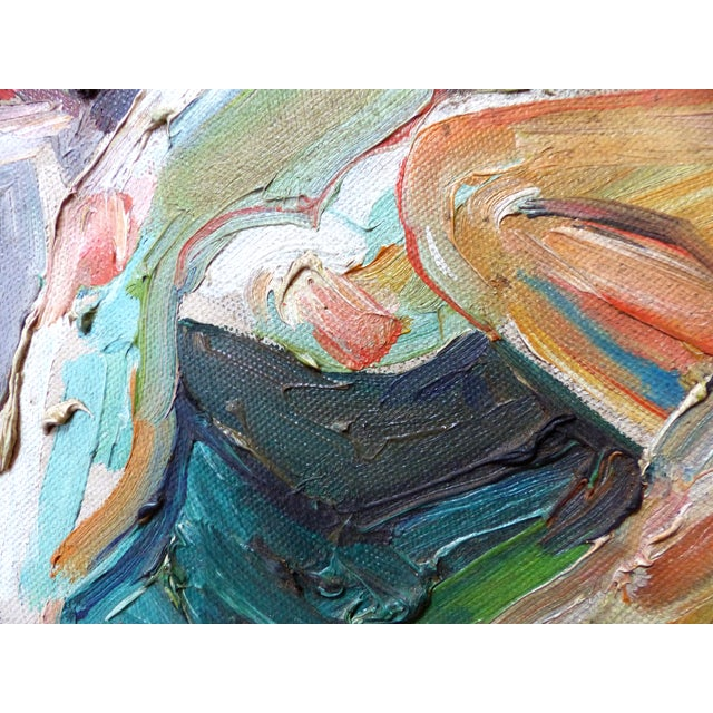 Mid-Century Nudes Oil Painting - Robert Blanchard - Image 6 of 9