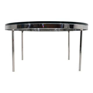 Nicos Zographos Coffee Table in Polished Stainless Steel