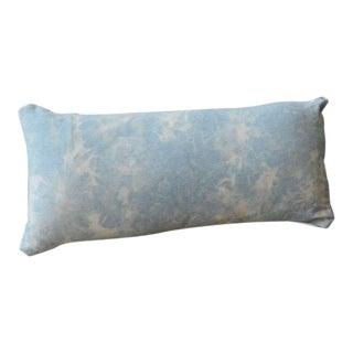 Tie Dye Baby Blue Pillow - 12x24