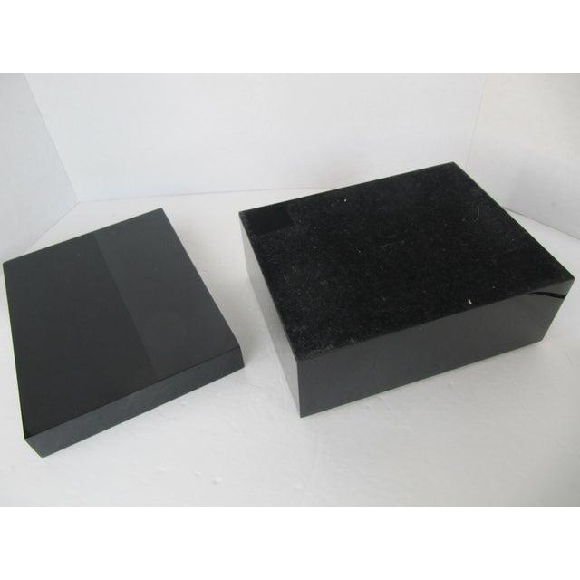 Minimalist Black Lacquer Box - Image 3 of 6