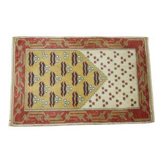 Vintage Turkish Anatolian Rug - 1'11'' x 3'