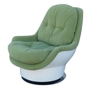 Italian Mid-Century Swivel Chair by Cesare Casati
