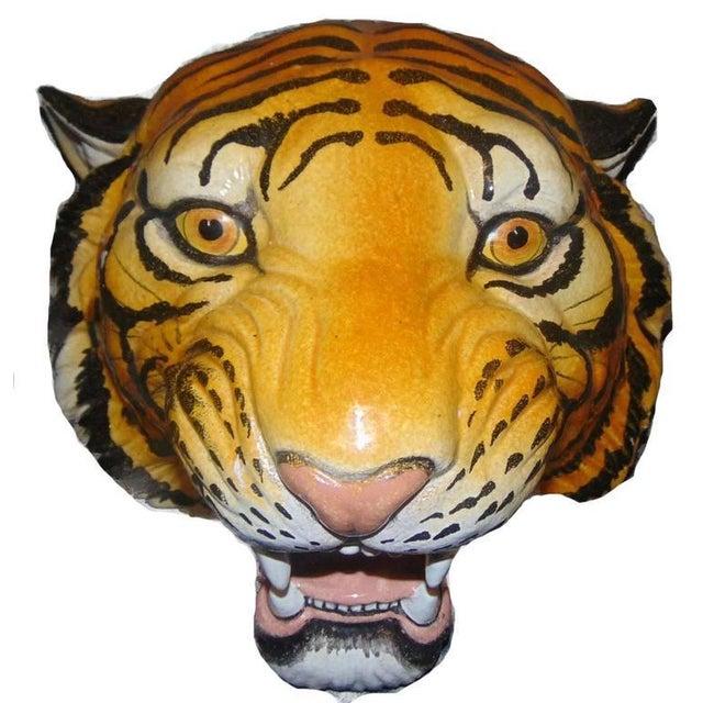 Italian Ceramic Safari Busts - Set of 3 - Image 2 of 9