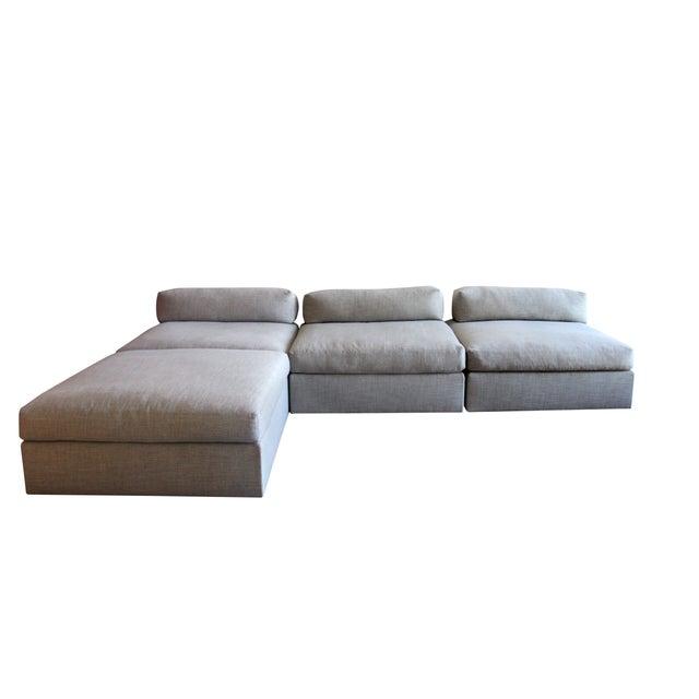 Bauhaus Style Modular Sectional Sofa - Image 1 of 5