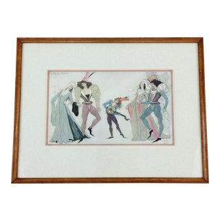 "Framed Print ""La Danse Basse"" Paris, 1937"
