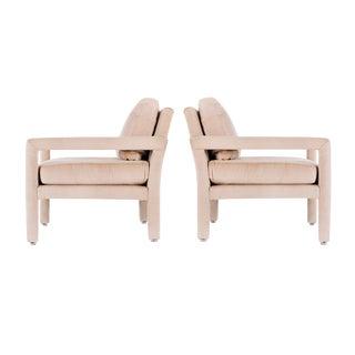 Pair of Milo Baughman Parson Chairs