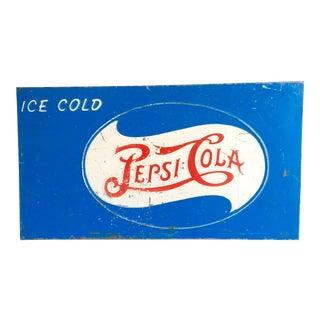 "Vintage ""Pepsi-Cola"" Sign"