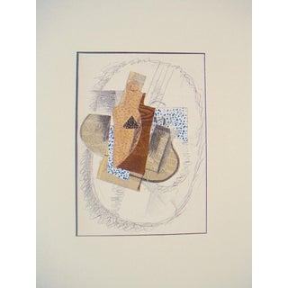 'Derriere le Miroir #138' Braque Lithograph