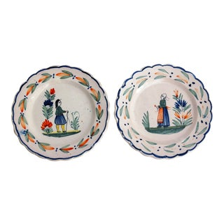 Quimper Plates - Set of 2