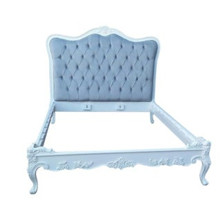 French Style Tufted Bed Frame - King Size
