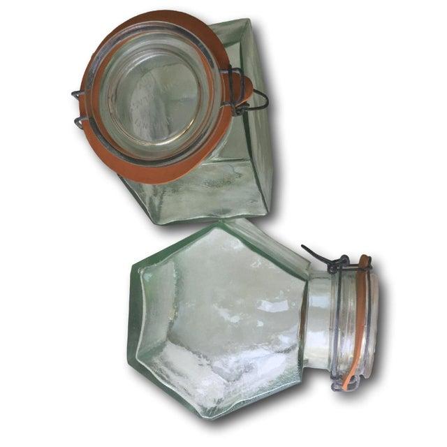 Vintage Hermetic Glass Jars - A Pair - Image 5 of 5