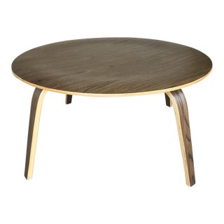 Plywood Round Coffee Table