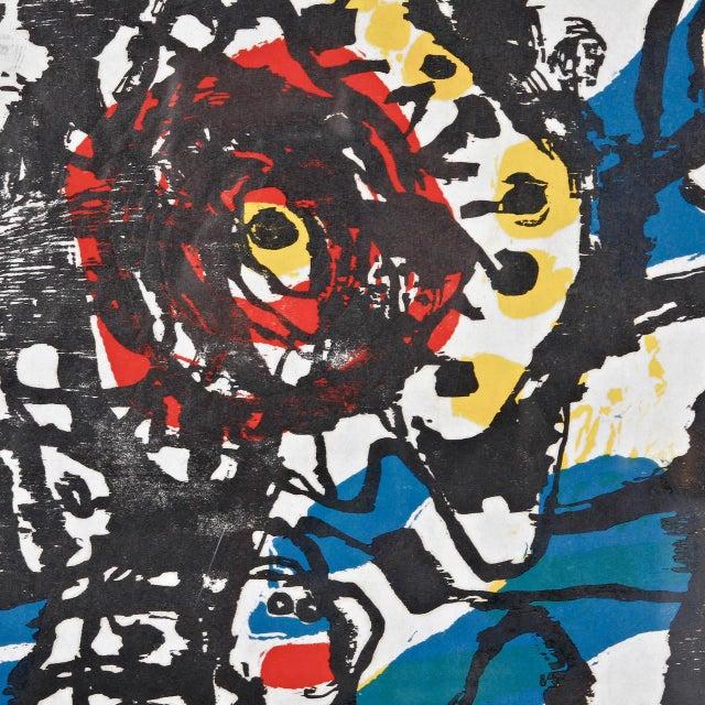 """J. Diedren """"Kinderen Tussen Het Blaw"""" Lithography, 1965 - Image 4 of 10"""