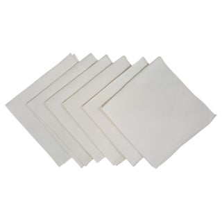 Ivory Linen Napkins - Set of 6