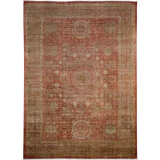 "Oushak Hand Knotted Area Rug - 6'9"" X 9'5"""