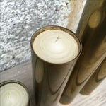 Image of Mid-Century Regency Brass Candle Sticks - Set of 5