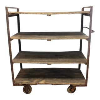 Antique Industrial Shelves