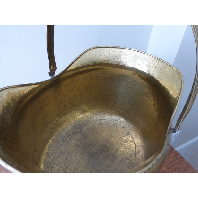 French Antique Brass Coal Hod - Image 5 of 8