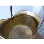 Image of French Antique Brass Coal Hod