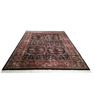 Traditional Hand Knotted Rug - 9′ × 12′