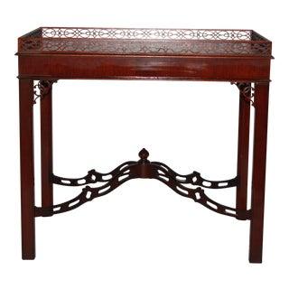 Vintage Kindel Furniture Townsend Mahogany Tea Table